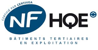 Logo démarche NF HQE Tertiaire
